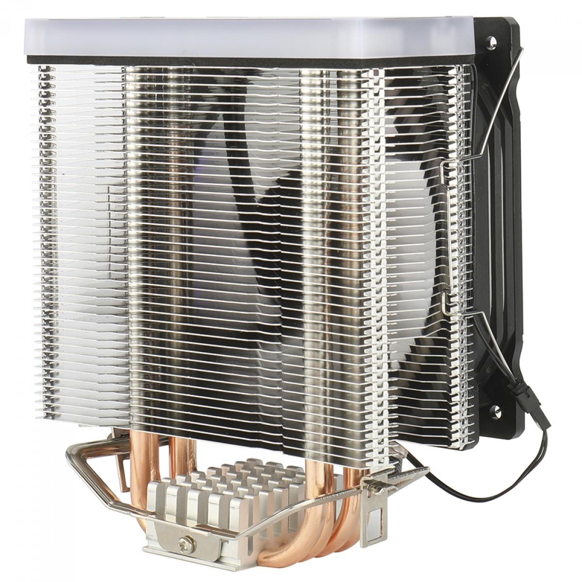Cooler para Processador Redragon Thor, Rainbow, 120mm, Intel-AMD, CC-9103