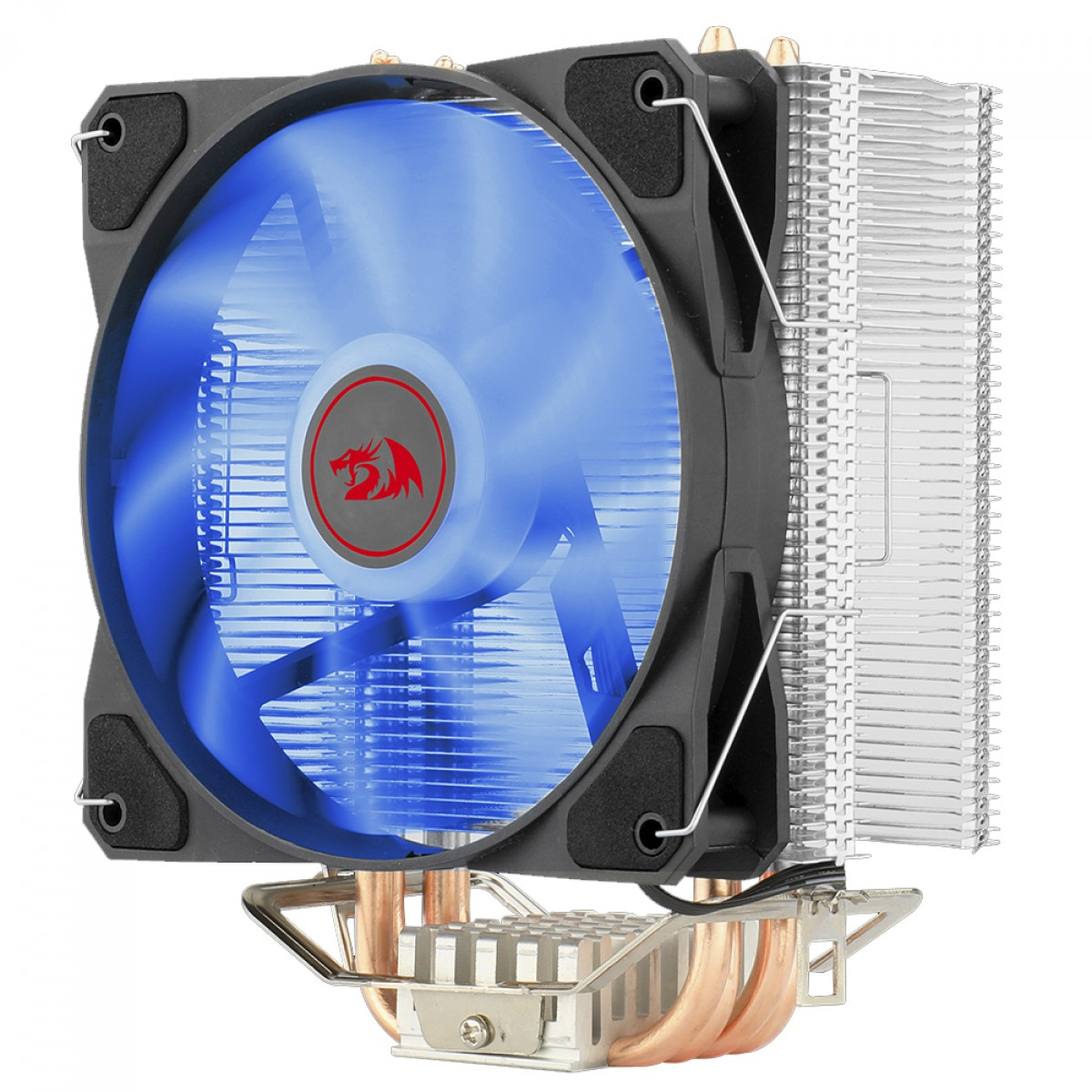 Cooler para Processador Redragon Tyr, 120mm, LED Blue, Intel-AMD, CC-9104B