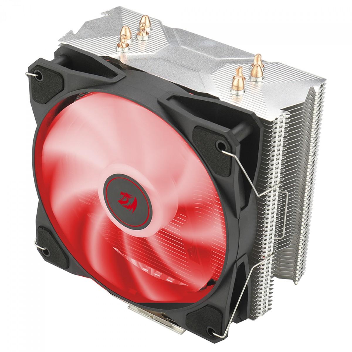 Cooler para Processador Redragon Tyr, 120mm, LED Red, Intel-AMD, CC-9104R