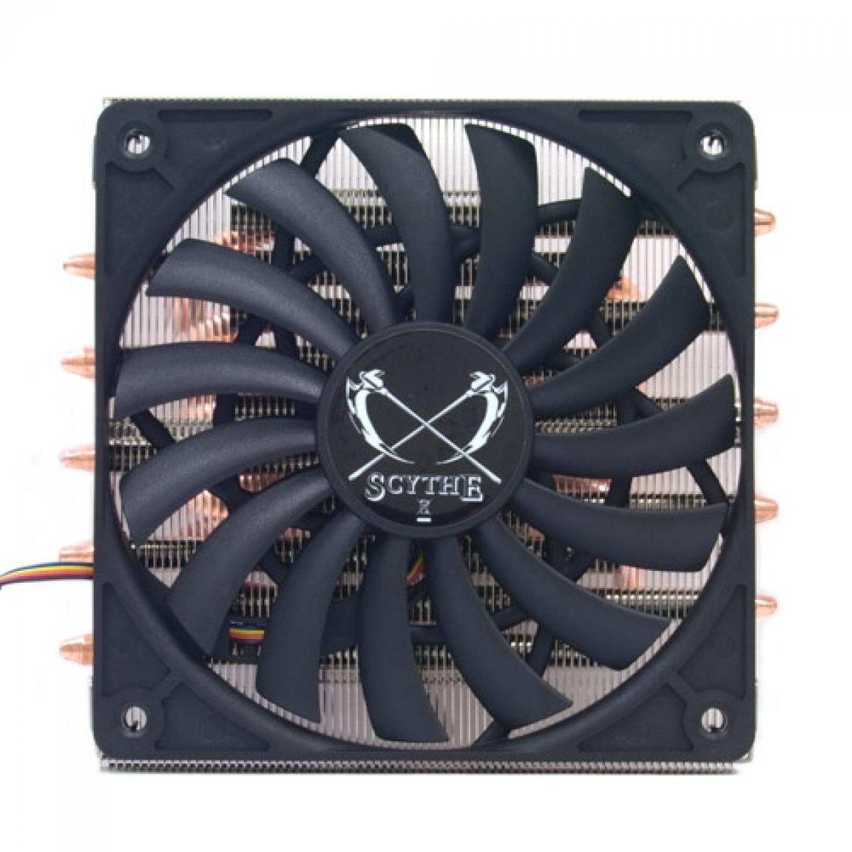 Cooler para Processador Scythe, Big Shuriken 2, 120mm, Intel-AMD