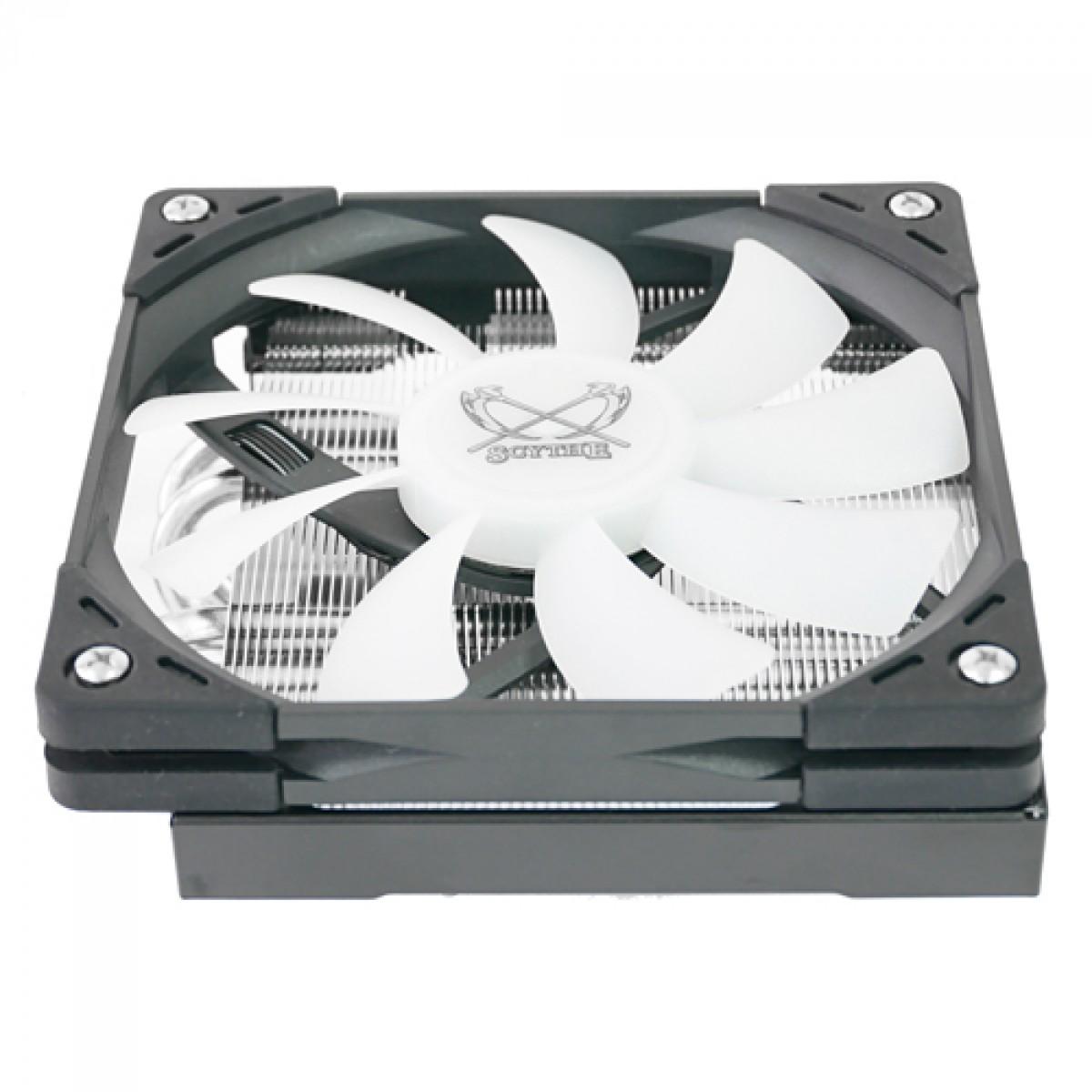 Cooler para Processador Scythe, Big Shuriken 3, RGB, 120mm, Intel-AMD