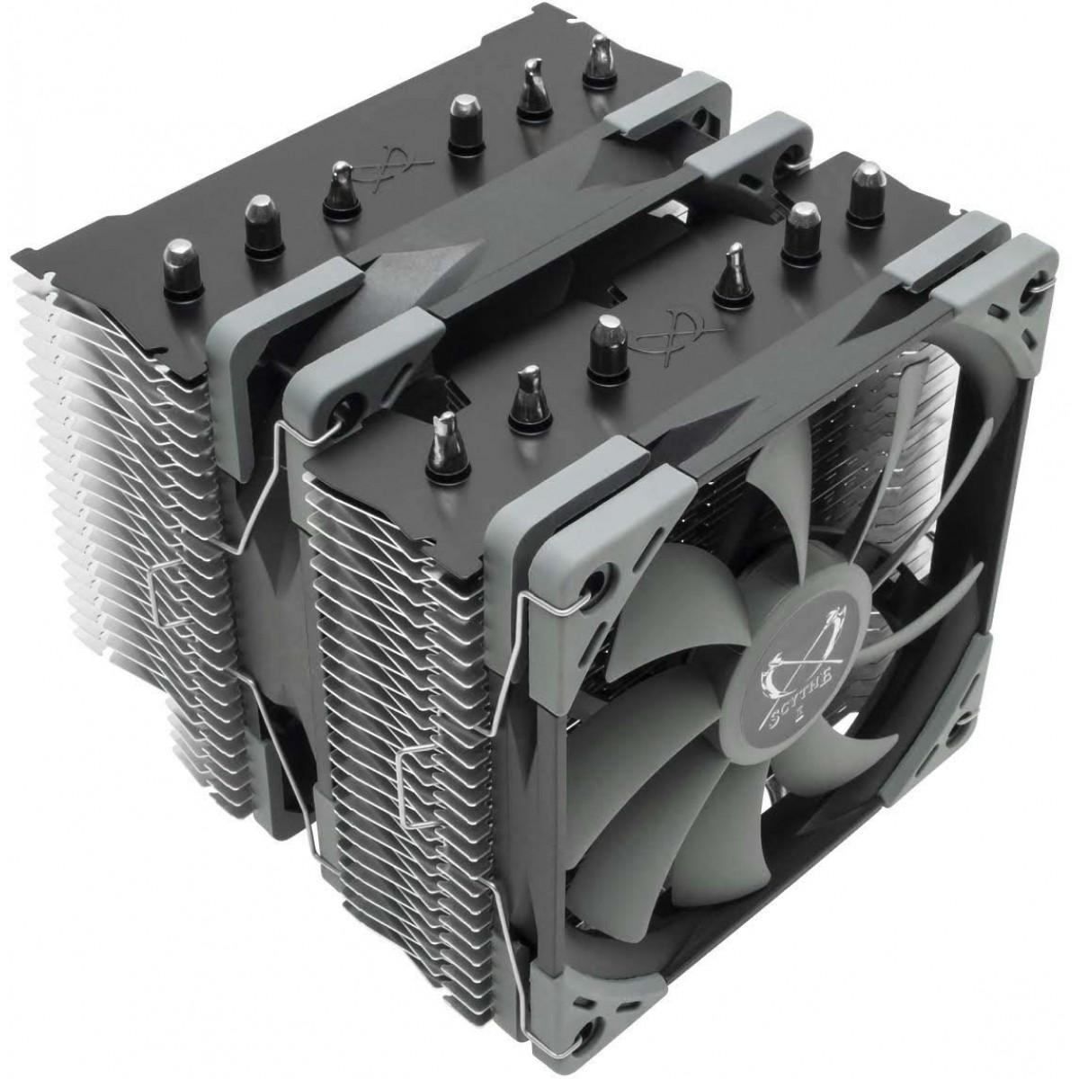 Cooler para Processador Scythe Fuma 2 120mm, Intel-AMD, SCFM-2000
