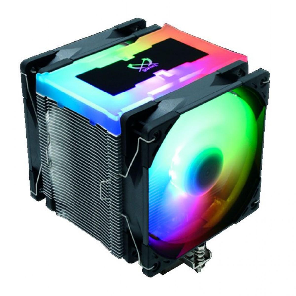 Cooler para Processador Scythe Mugen 5 ARGB Plus 120mm, Intel-AMD, SCMG-5102AR