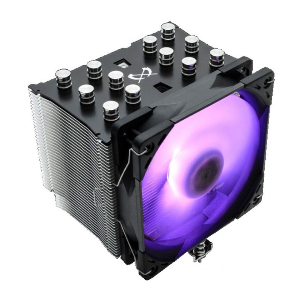 Cooler para Processador Scythe Mugen 5 Rgb Edition 120mm, Intel-AMD, SCMG-5100BK