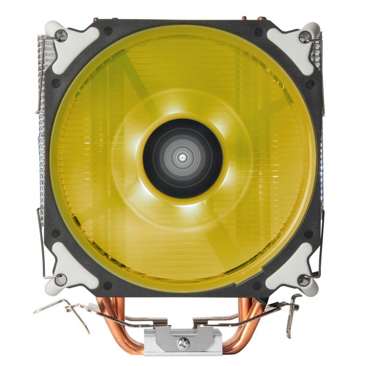Cooler para Processador SilverStone AR12, RGB, 120mm, Intel-AMD, SST-AR12-RGB