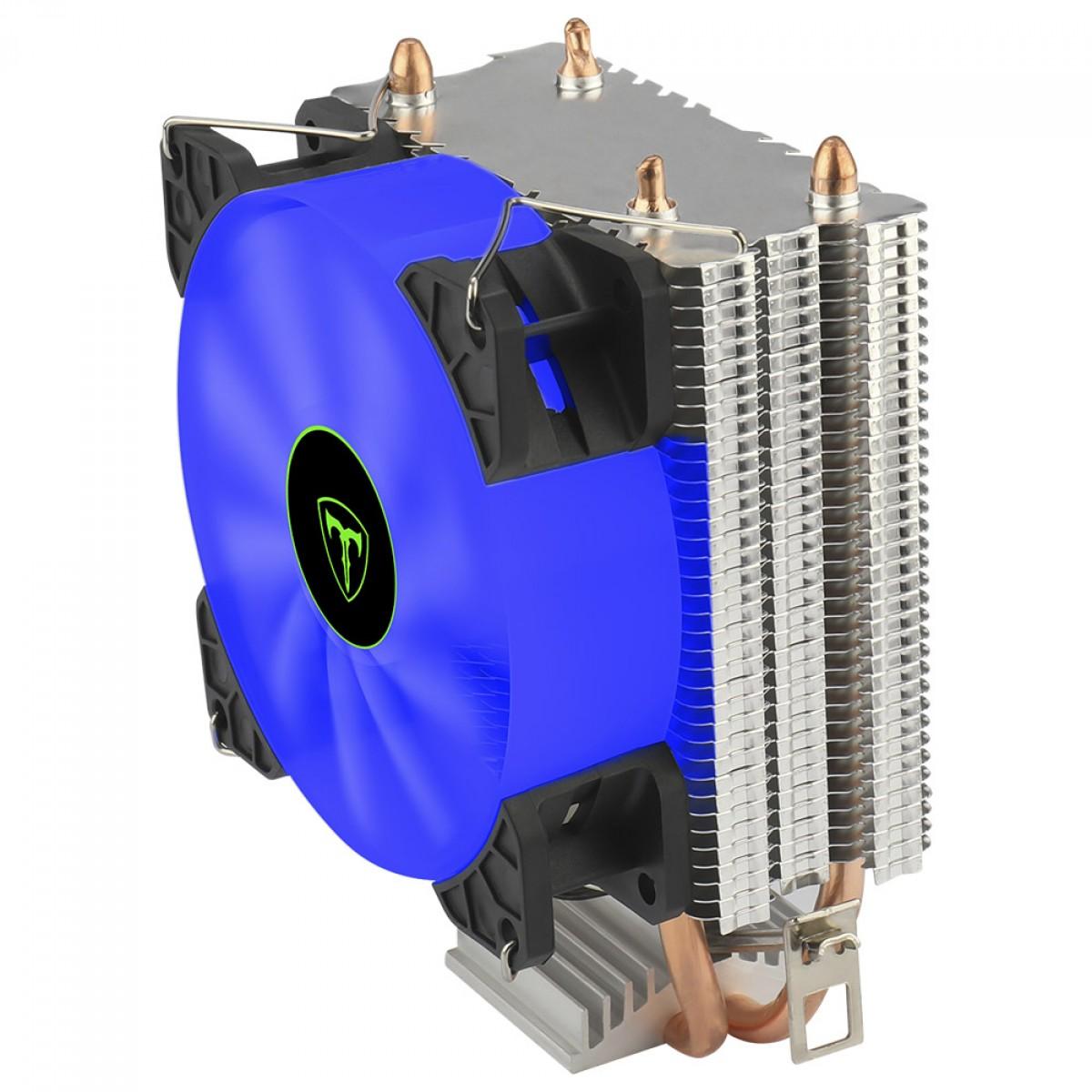 Cooler para Processador T-Dagger Idun B, 90mm, LED Blue, Intel-AMD, T-GC9109 B