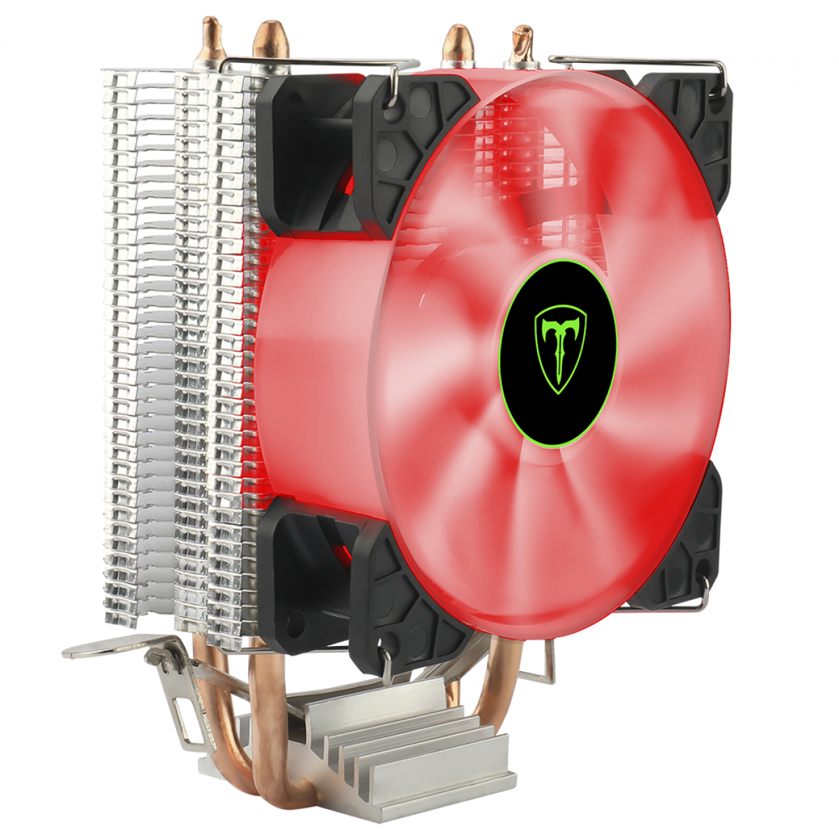 Cooler para Processador T-Dagger Idun R, 90mm, LED Red, Intel-AMD, T-GC9109 R