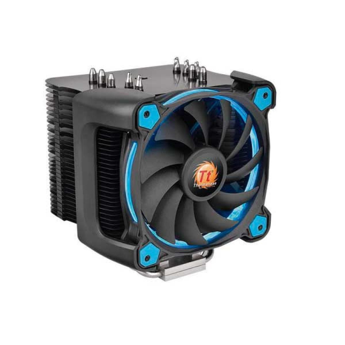 Cooler para Processador Thermaltake Riing SILENT 12 PRO, Blue 120mm, Intel-AMD, CL-P021-CA12BU-A - Open Box