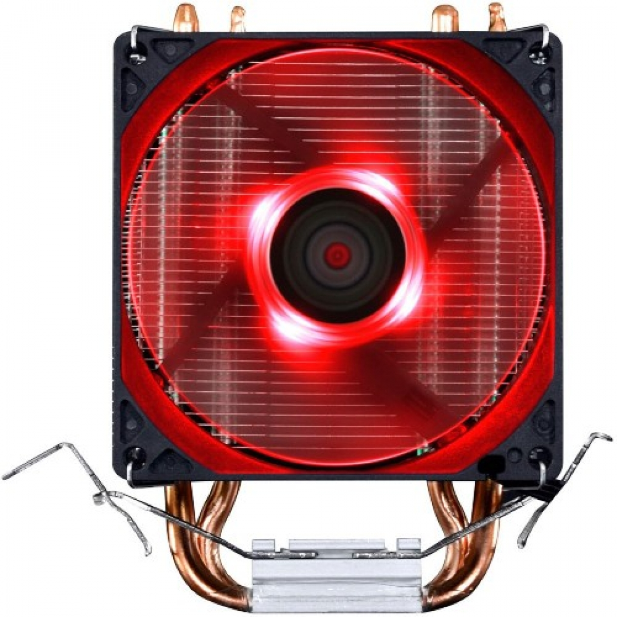 Cooler para Processador PCyes Zero KZ2, LED Red 92mm, Intel-AMD, ACZK292LDV
