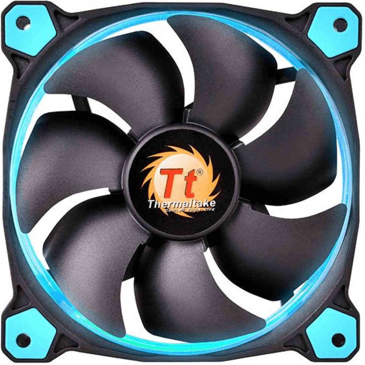 Cooler Thermaltake Riing 12 LED Blue CL-F038-PL12BU-A