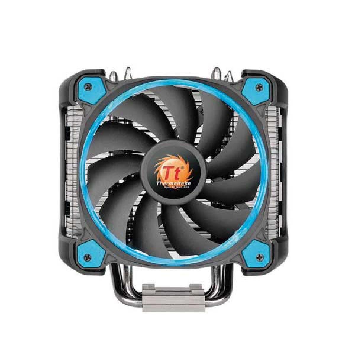 Cooler para Processador Thermaltake Riing SILENT 12 PRO, Blue 120mm, Intel-AMD, CL-P021-CA12BU-A