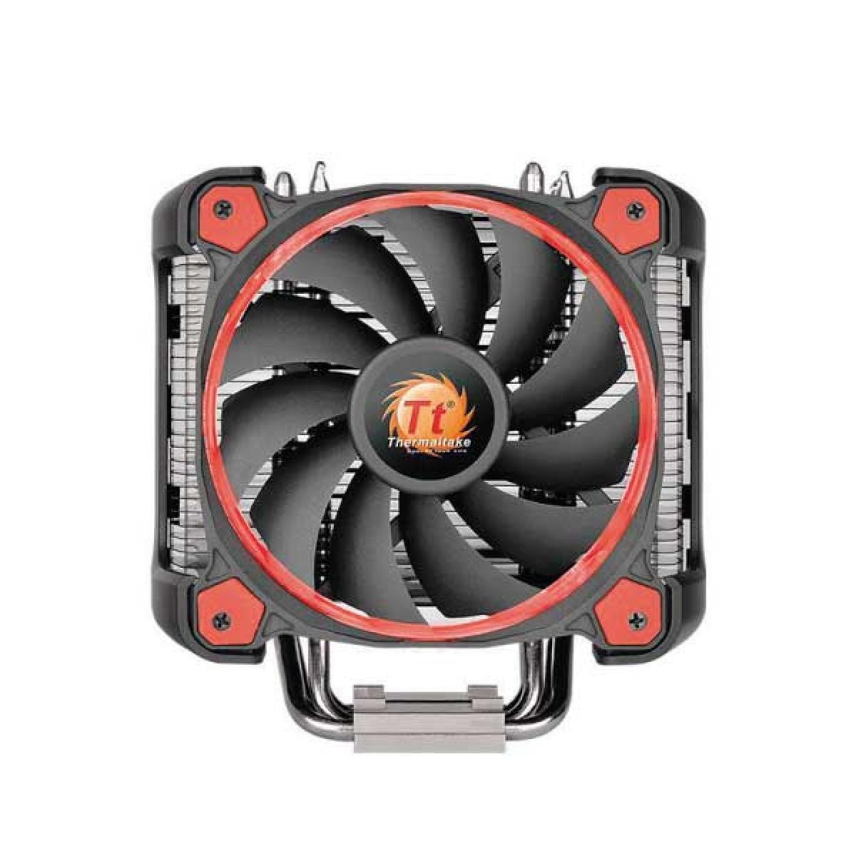 Cooler para Processador Thermaltake Riing SILENT 12 PRO, Red 120mm, Intel-AMD, CL-P021-CA12RE-A