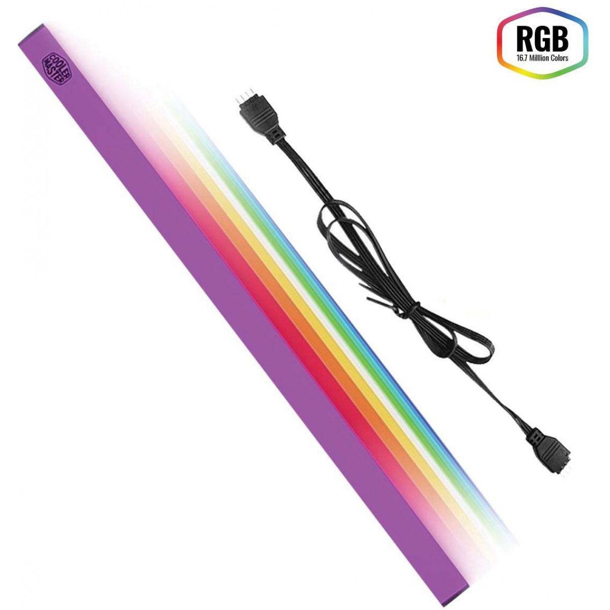 Fita de LED Cooler Master Universal LED RGB MCA-U000R-CLS000