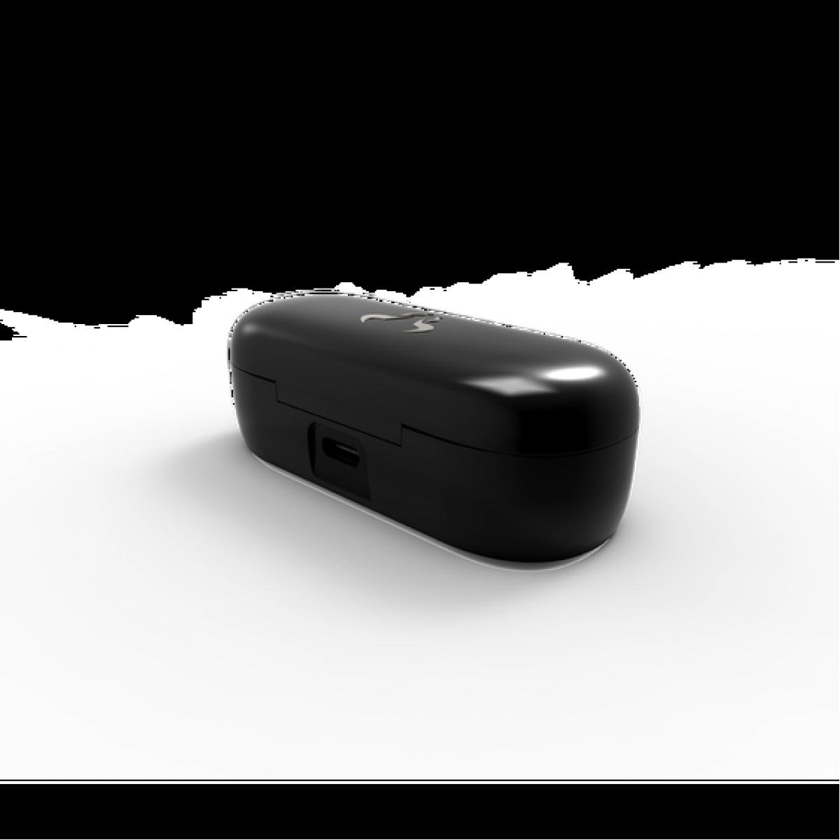 Fone de Ouvido Bluetooth Riotoro RPOD Classic, Black, AR-20B