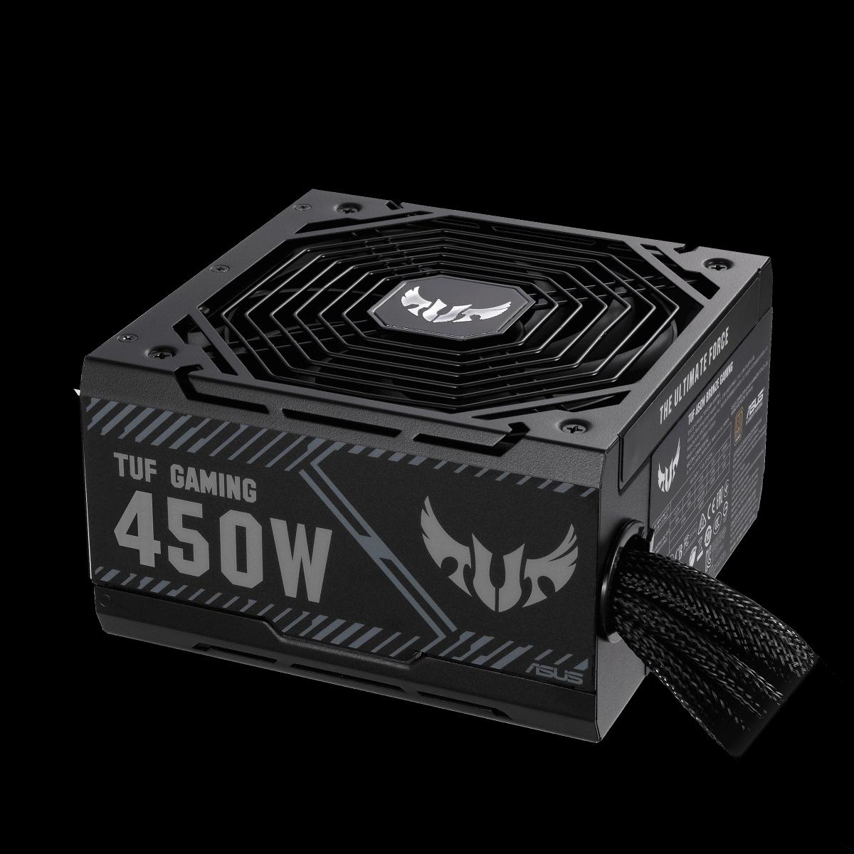 Fonte Asus TUF Gaming 450W, 80 Plus Bronze, TUF-GAMING-450B, 90YE00D3-B0NA00