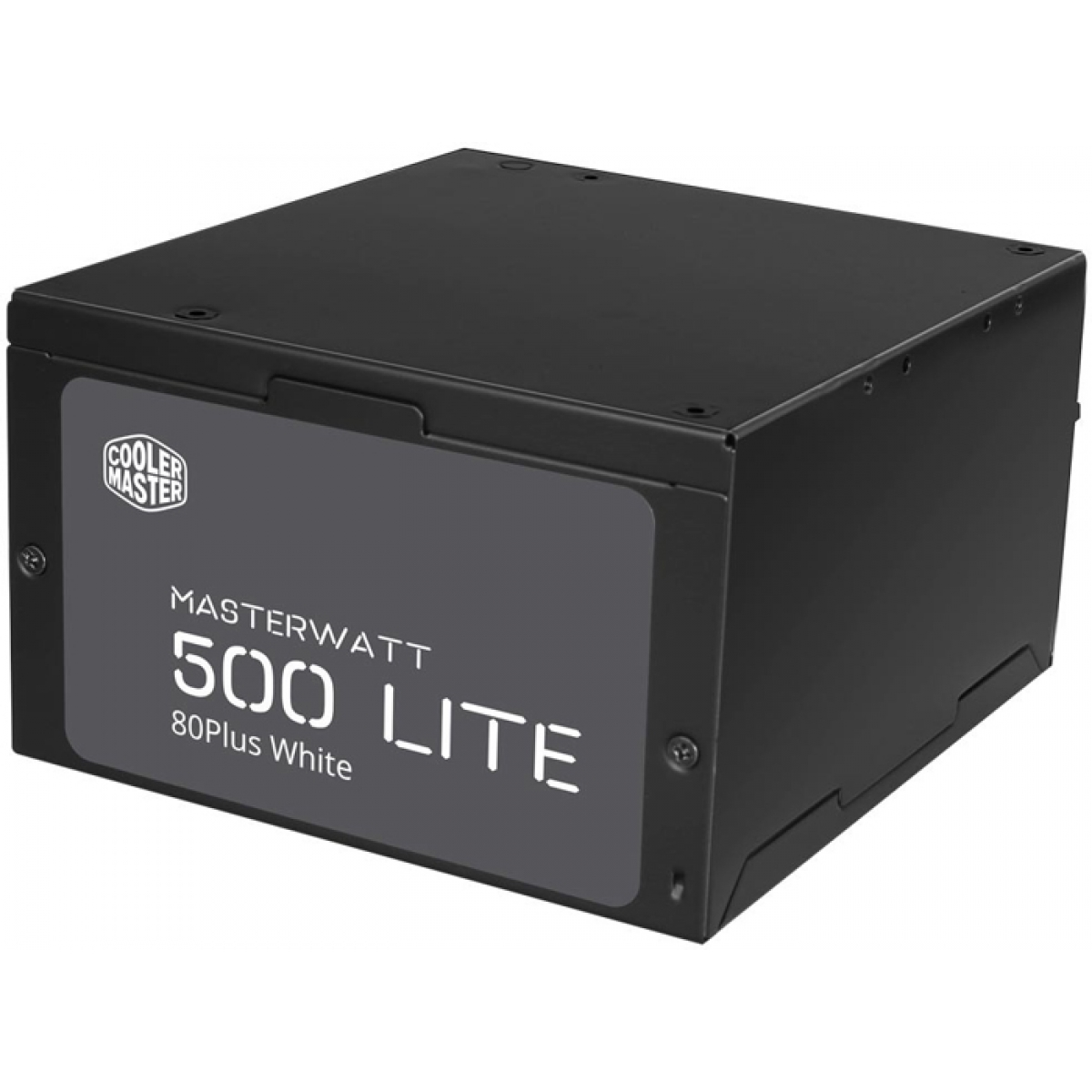 Fonte Cooler Master Masterwatt Lite 500W, 80 Plus White, PFC Ativo, MPX-5001-ACAAW-WO