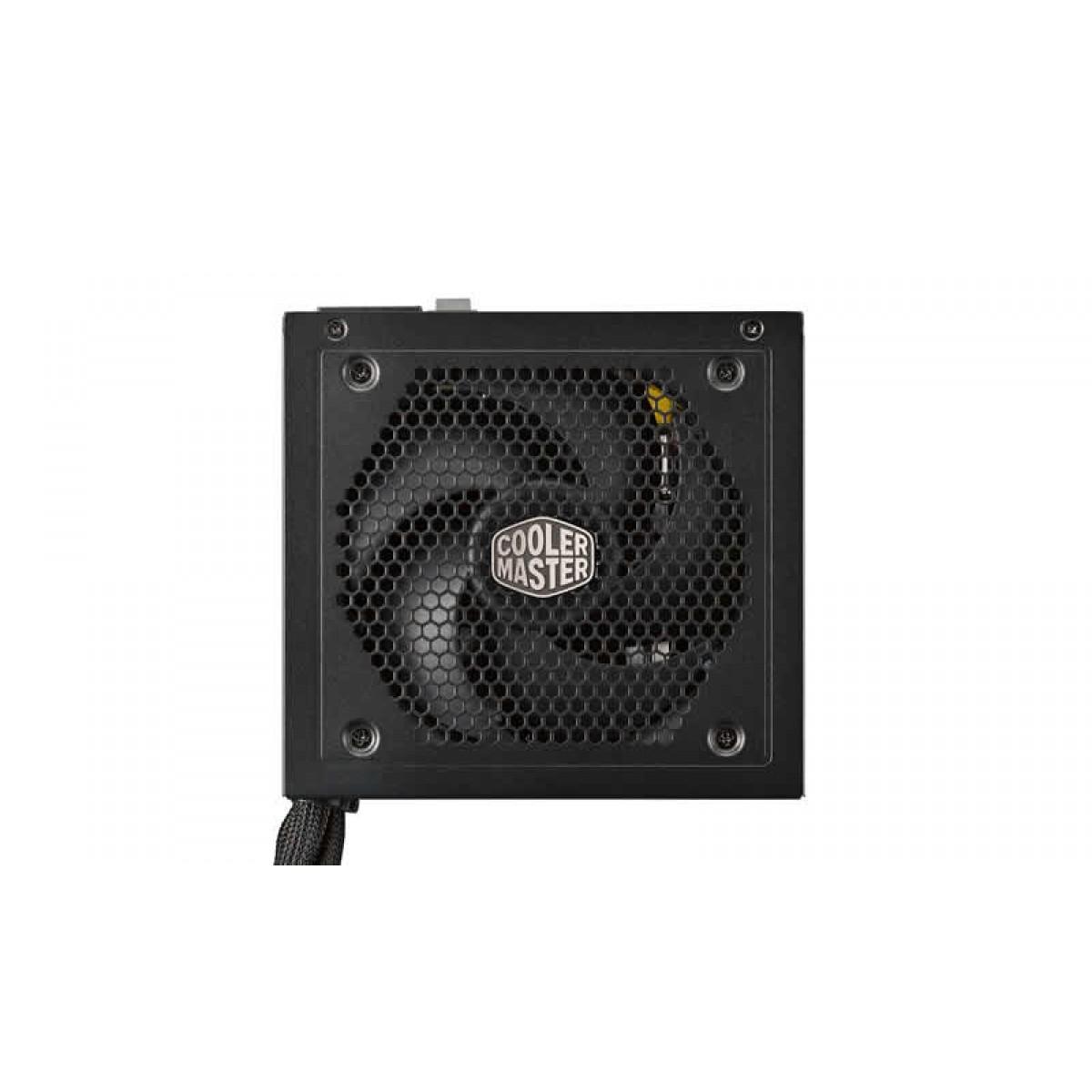 Fonte Cooler Master Masterwatt V550, 550W, 80 Plus Bronze, Semi-Modular, PFC Ativo, MPX-5501-AMAAB-WO