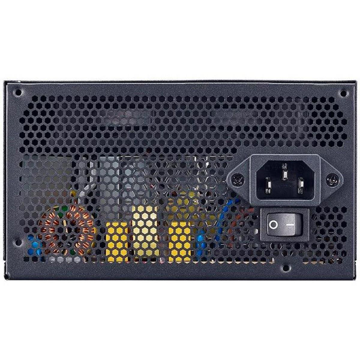 Fonte Cooler Master MPE 550W, 80 Plus White, PFC Ativo, MPE-5501-ACAAW-BR