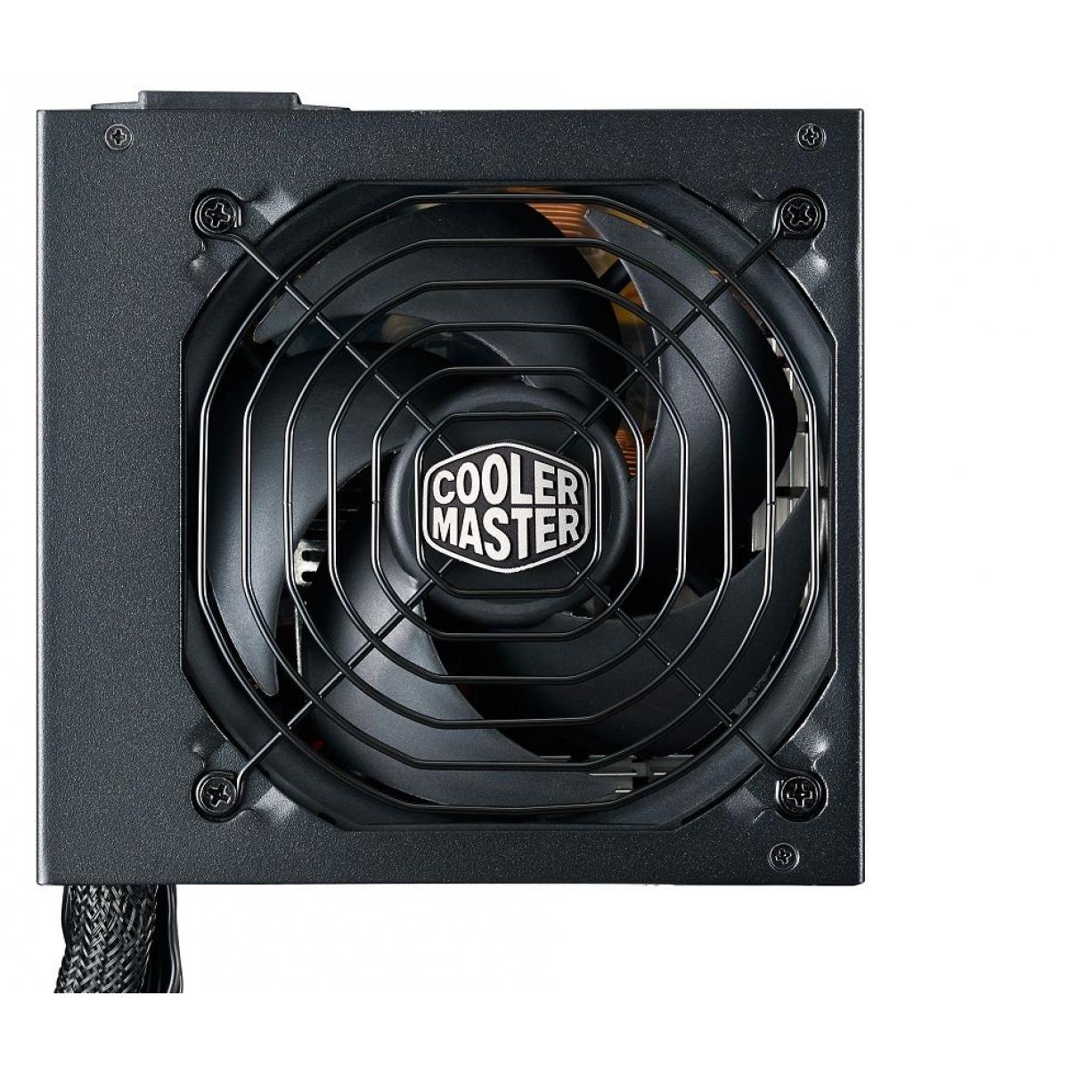 Fonte Cooler Master MWE 550W, 80 Plus Gold, PFC Ativo, MPY-5501-ACAAG-WO