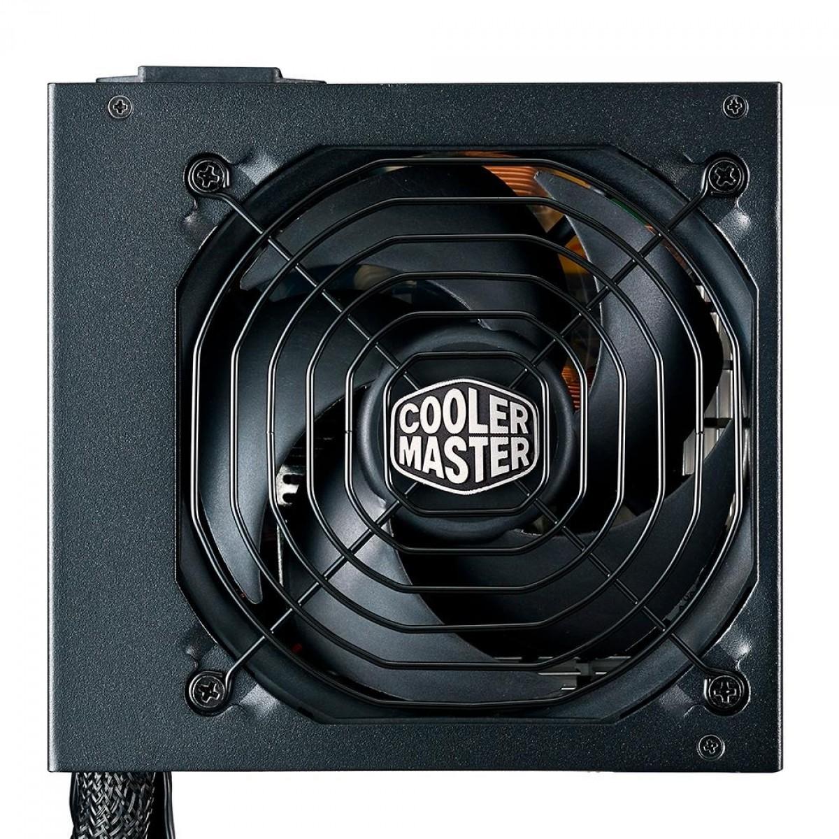 Fonte Cooler Master MWE V2 850W, 80 Plus Gold, PFC Ativo, MPE-8501-ACAAG-WO