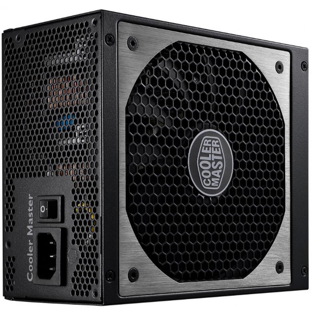 Fonte Cooler Master V1000 1000W, 80 Plus Gold, PFC Ativo, Full Modular, RSA00-AFBAG1-WO