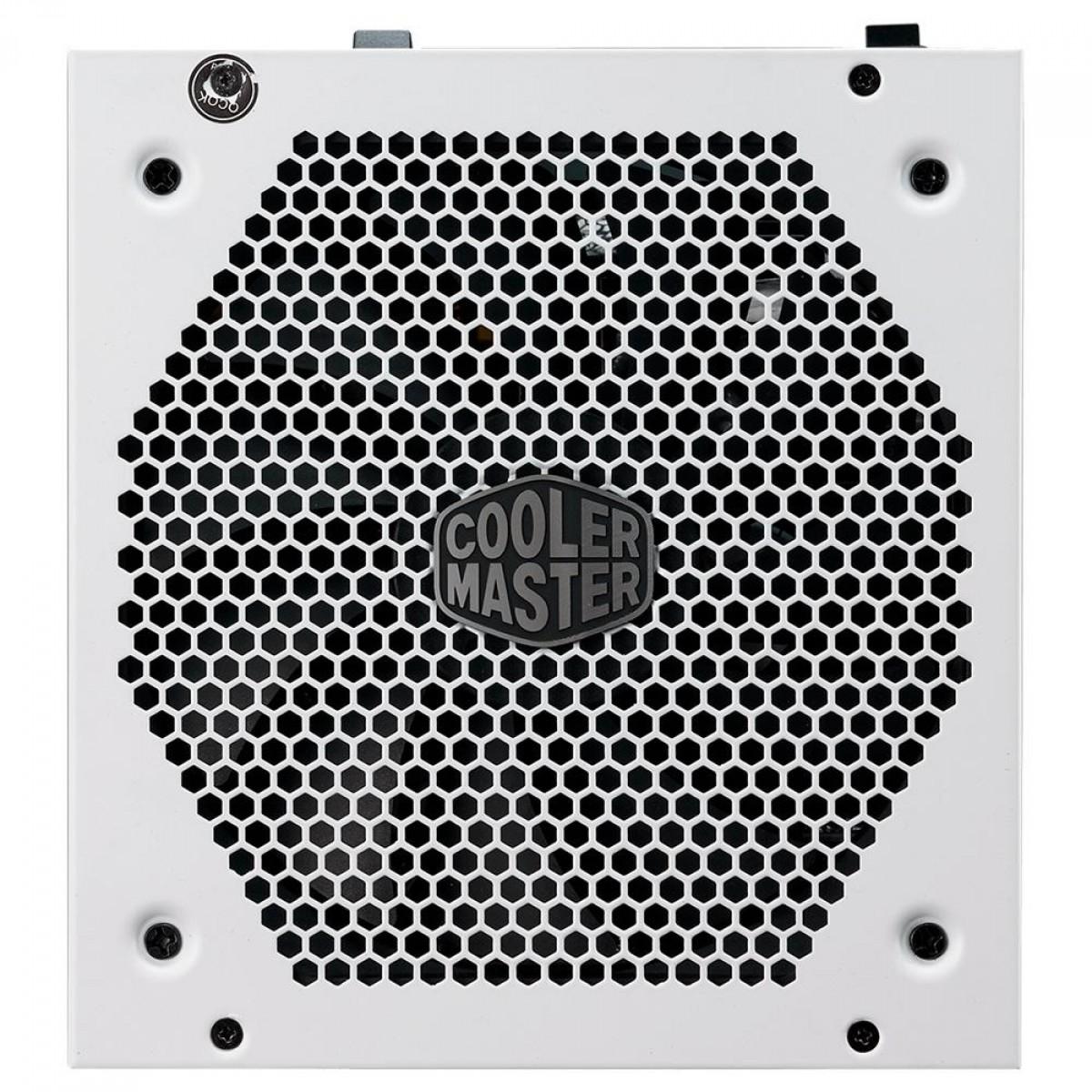 Fonte Cooler Master V750 V2 750W, 80 Plus Gold, PFC Ativo, Full Modular, MPY-750V-AGBAG-WO - Open Box