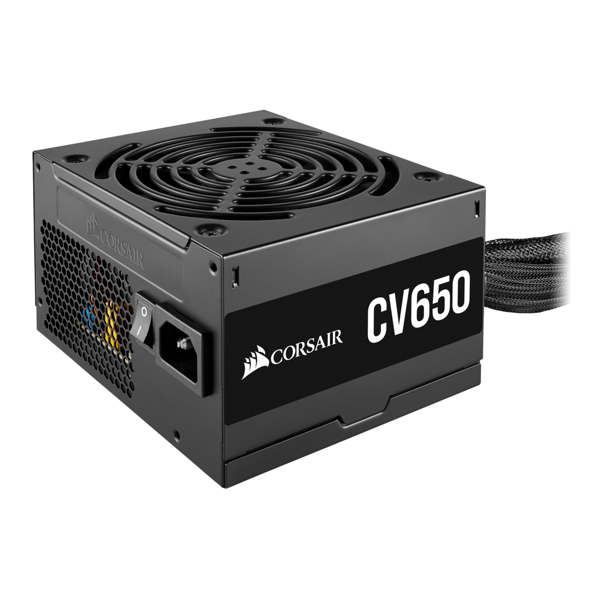 Fonte Corsair ATX CV650 650W, 80 Plus Bronze, PFC Ativo, CP-9020211-BR