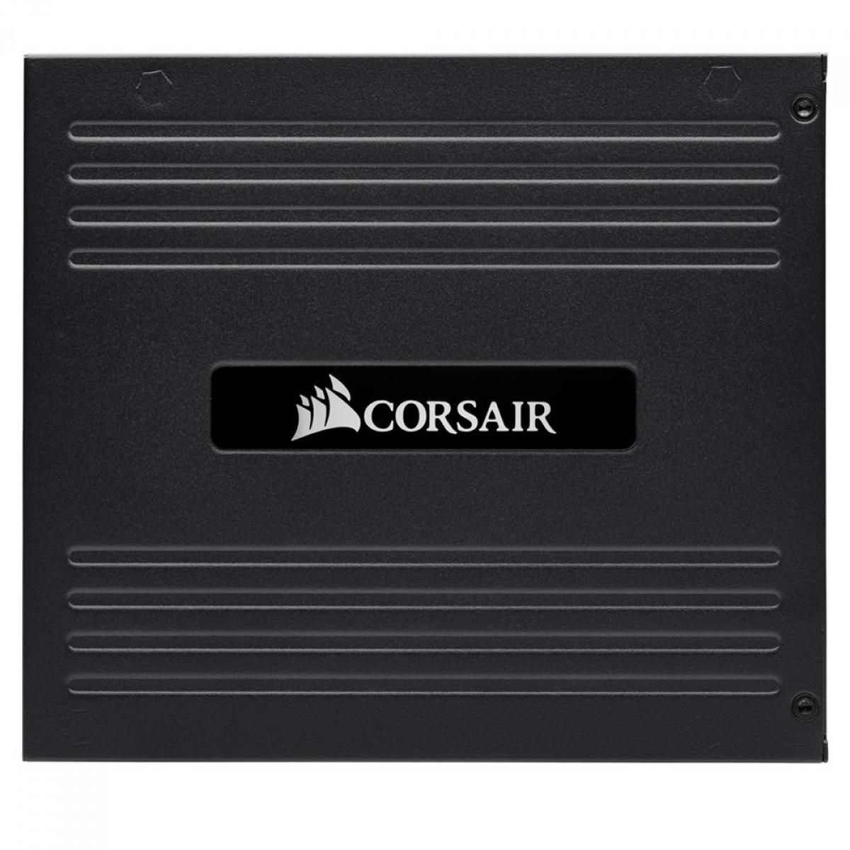 Fonte Corsair AX1000, 1000W, 80 Plus Titanium, PFC Ativo, Full Modular, Black, CP-9020152-WW