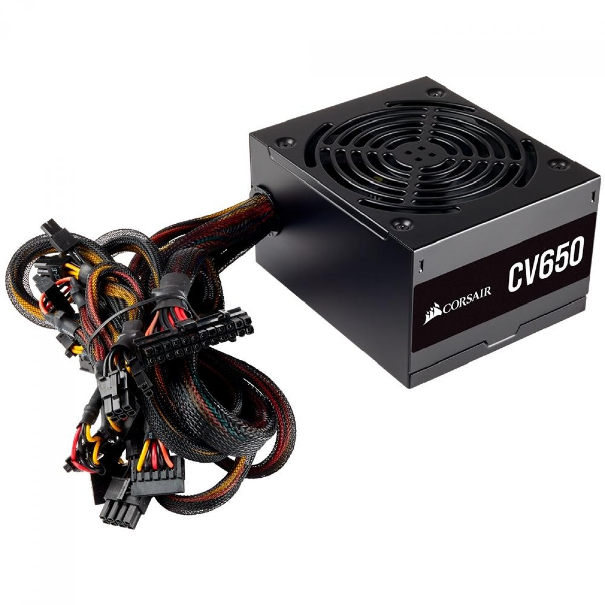 Fonte Corsair CV650, 650W, 80 Plus Bronze - CP-9020211-BR