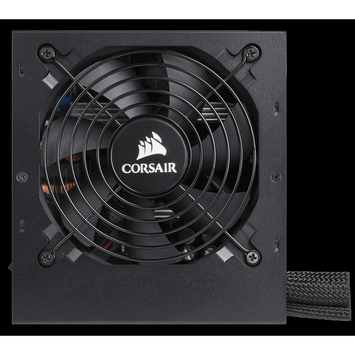 Fonte Corsair CX450 450W, 80 Plus Bronze, PFC Ativo, CP-9020120-WW