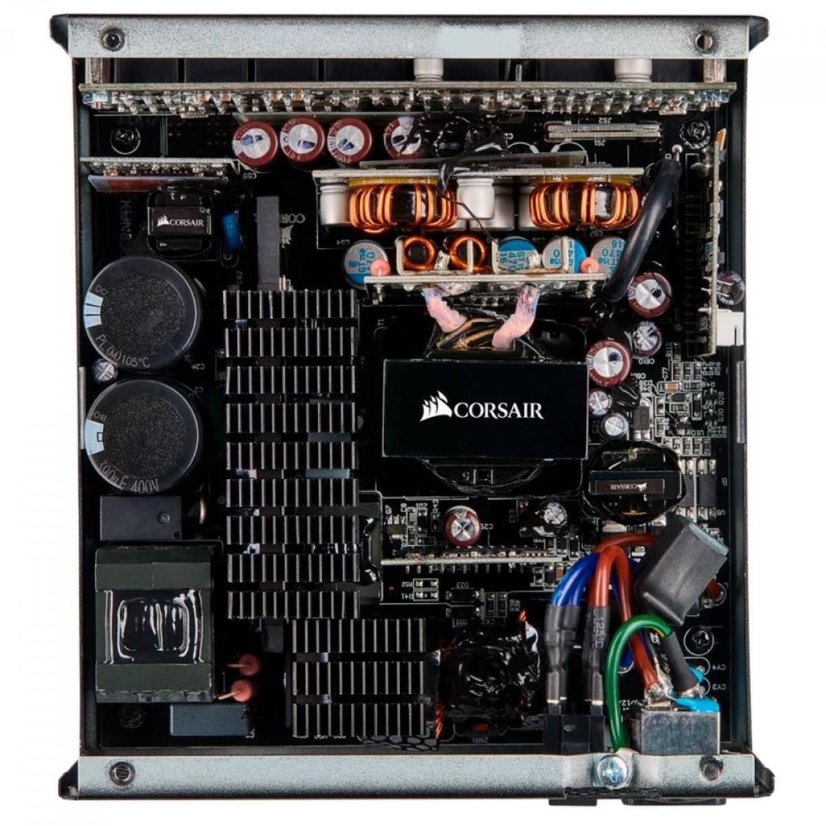 Fonte Corsair RM650 650W, 80 Plus Gold, PFC Ativo, Full Modular, CP-9020194-WW