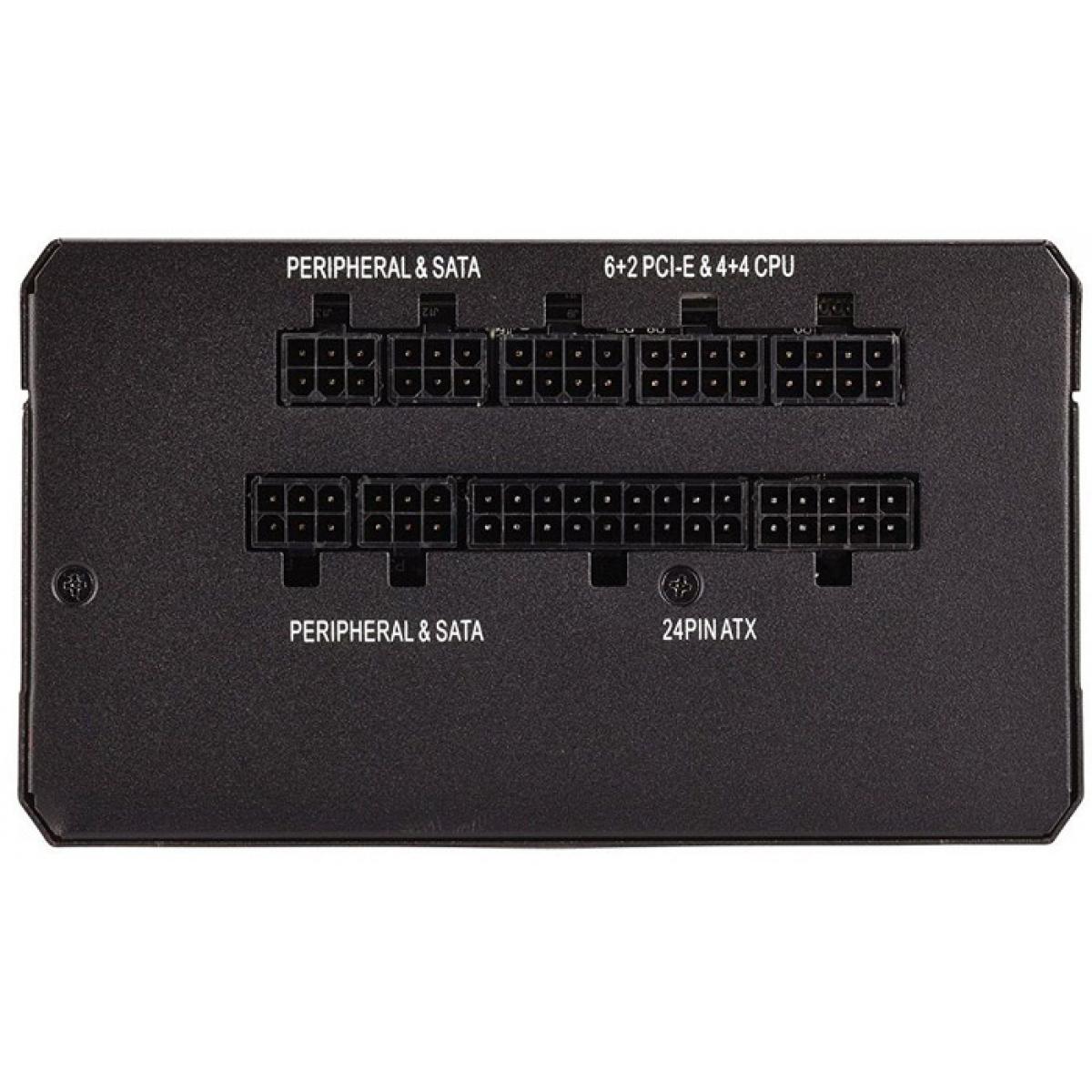 Fonte Corsair RM750X 750W, 80 Plus, Gold Modular, PFC Ativo, CP-9020179-WW