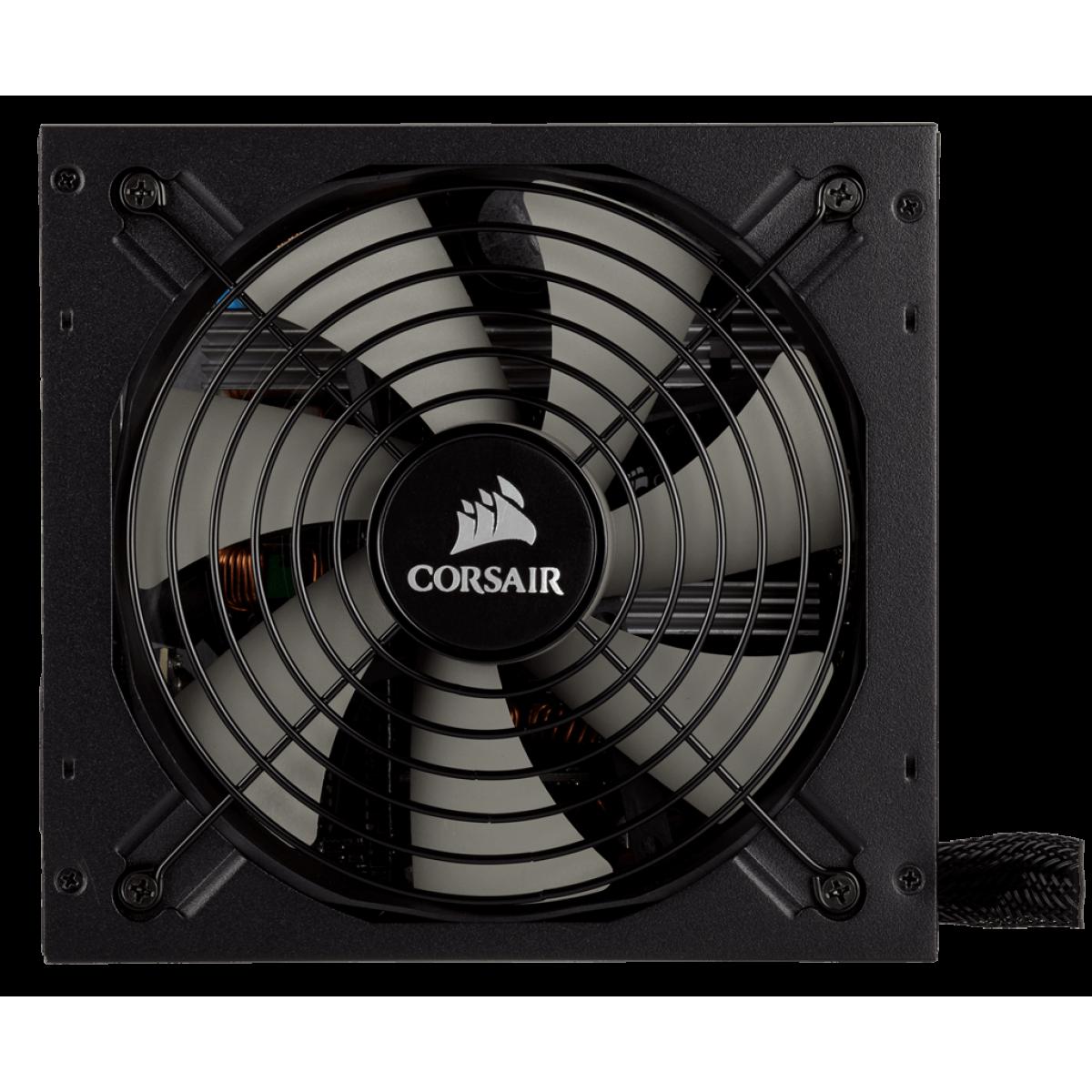 Fonte Corsair TX850M 850W, 80 Plus Gold, PFC Ativo, Semi Modular, CP-9020130-WW