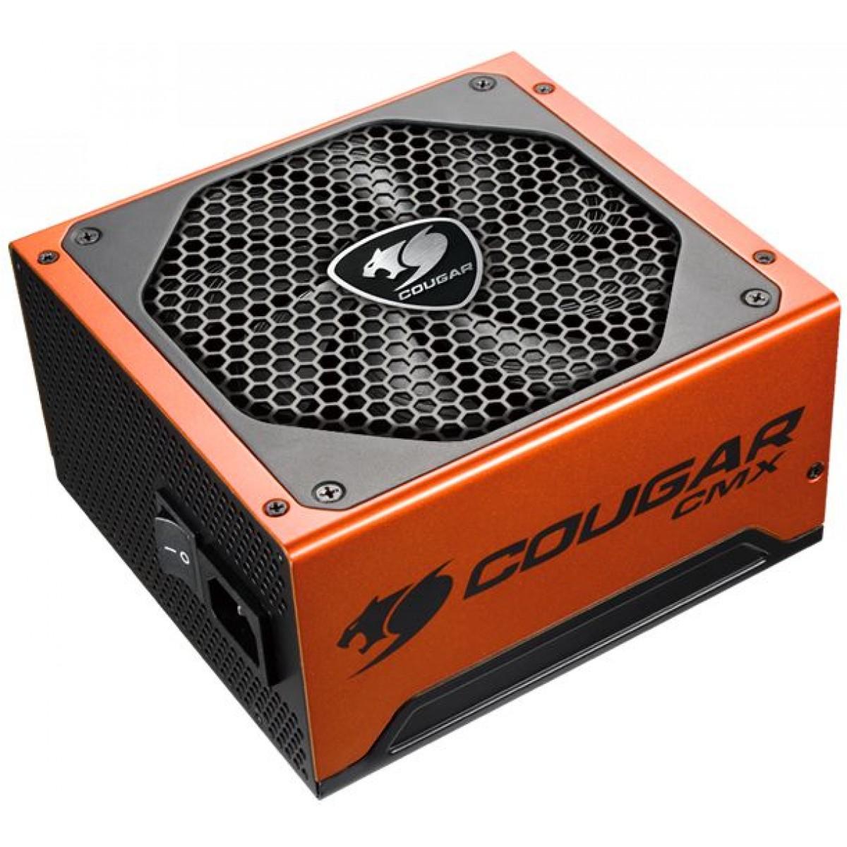 Fonte Cougar CMX 1200W, 80 Plus Bronze, Semi Modular, PFC Ativo