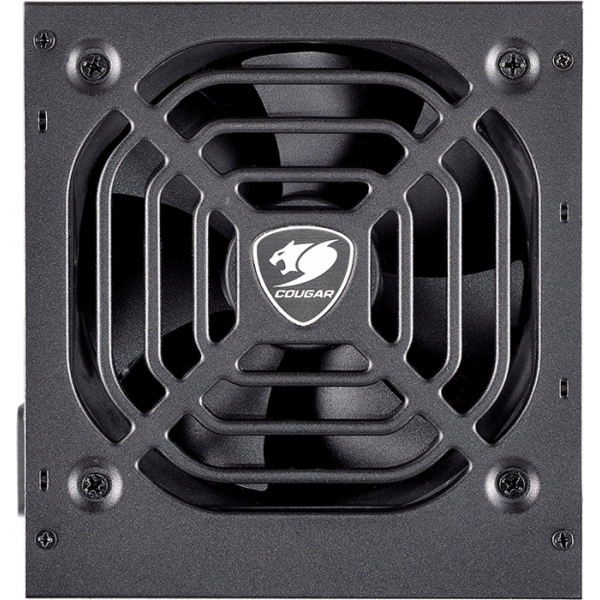 Fonte Cougar VTC500 500W, 80 Plus White, PFC Ativo, 31VC050006P01
