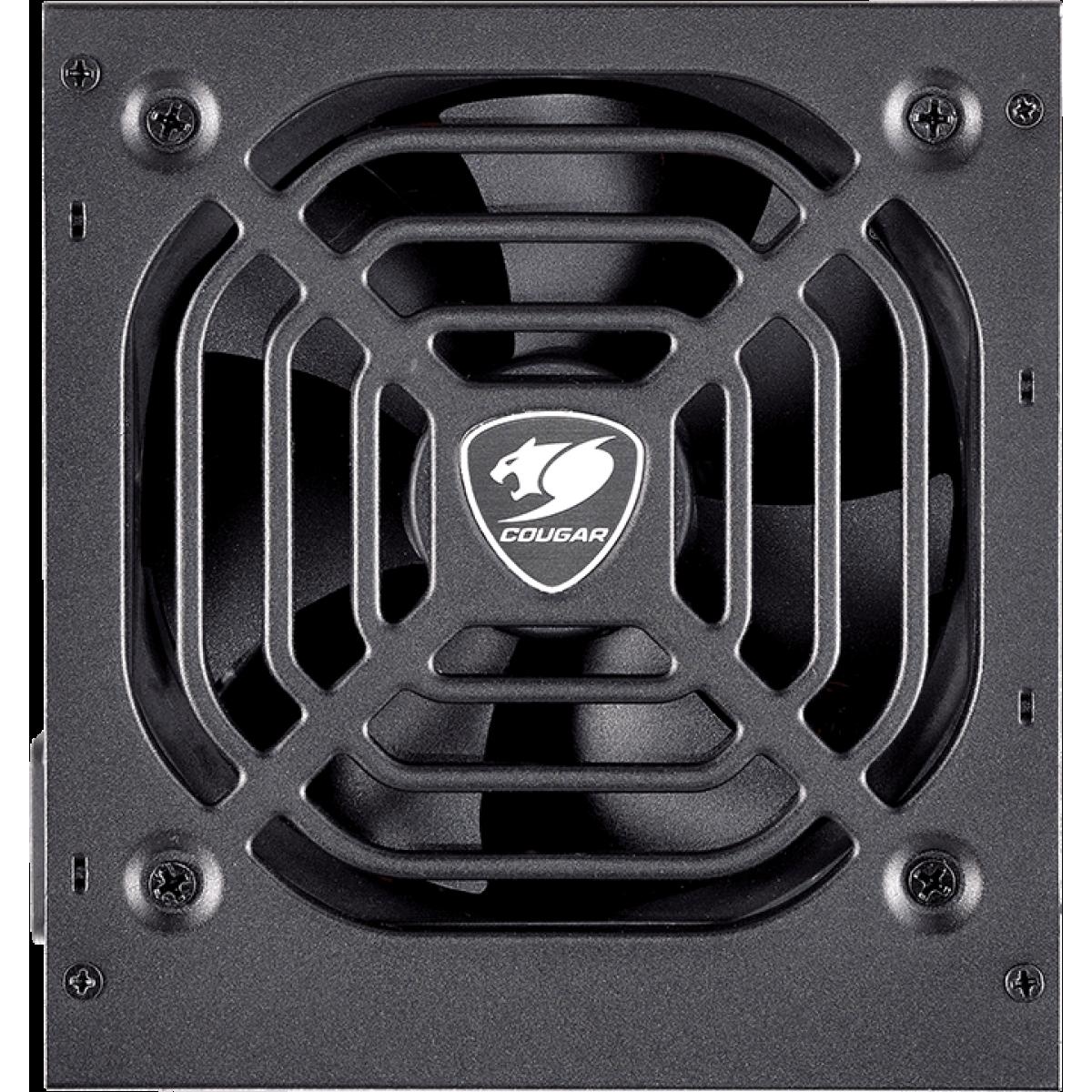 Fonte Cougar VTE 500W 80 Plus Bronze PFC Ativo