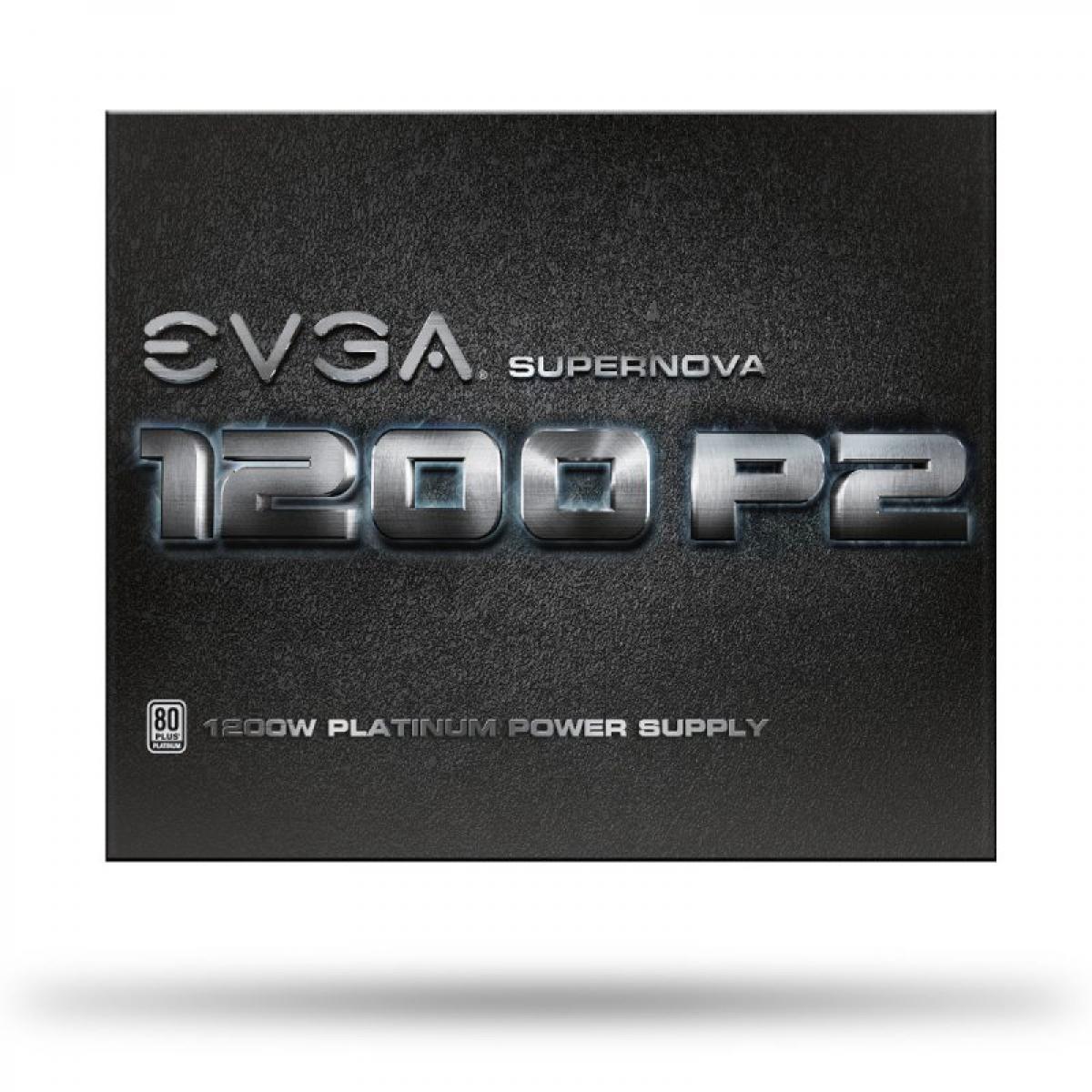Fonte EVGA Supernova 1200 P2 1200W, 80 Plus Platinum, PFC Ativo, Full Modular, 220-P2-1200-X0