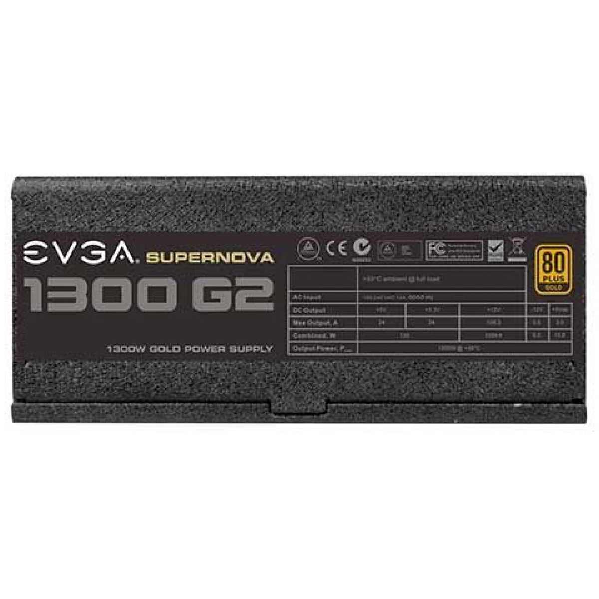 Fonte EVGA SuperNova G2 1300W, 80 Plus Gold, PFC Ativo, Full Modular, 120-g2-1300-x0