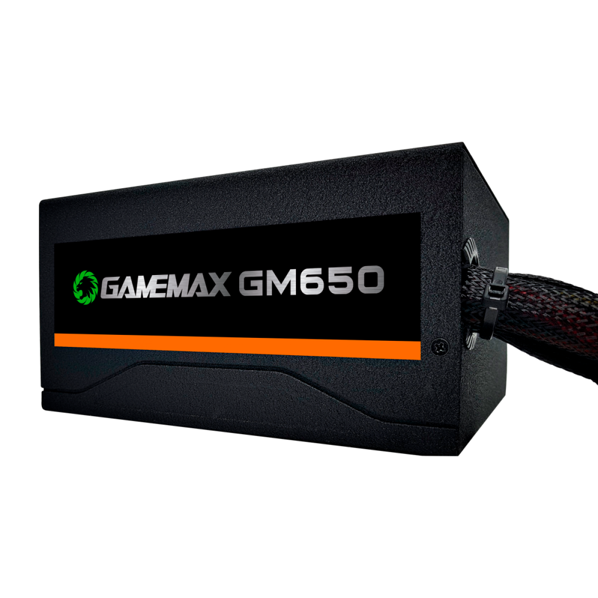 Fonte Gamemax GM650 650W, 80 Plus Bronze, PFC Ativo, Black