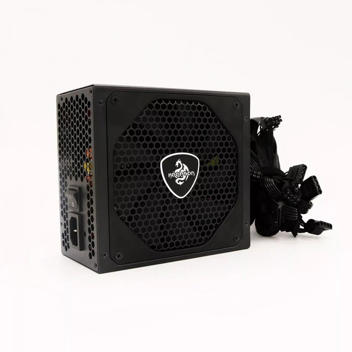 Fonte Gamer Hoopson GT750, 750W, 80 Plus Bronze, ATX