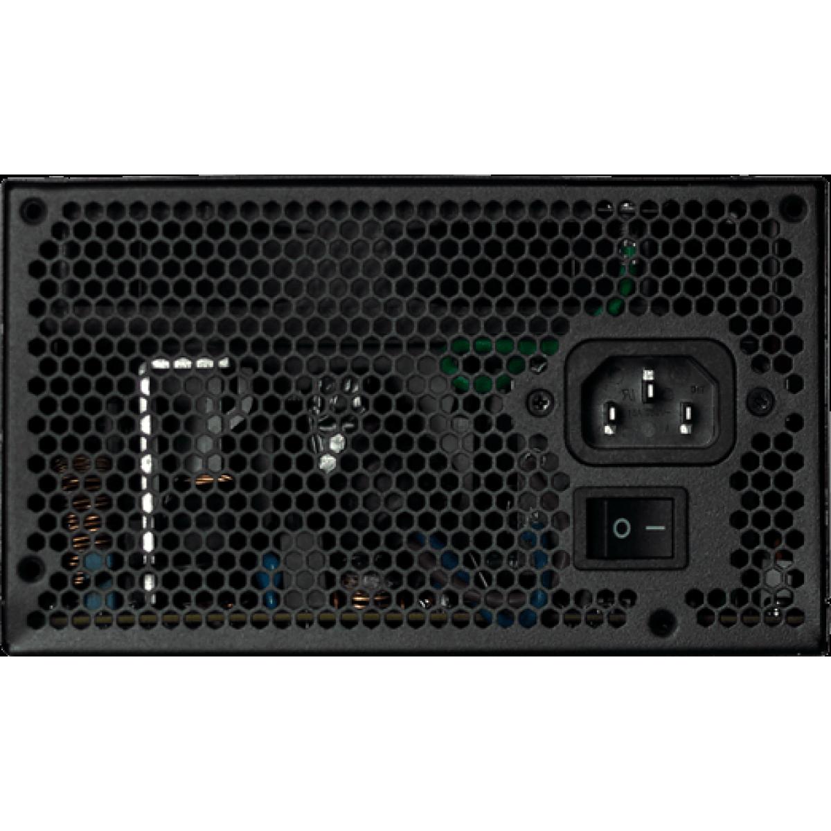 Fonte Riotoro Builder Edition 500W, 80 Plus White, PFC Ativo, PR-BFX500-NA