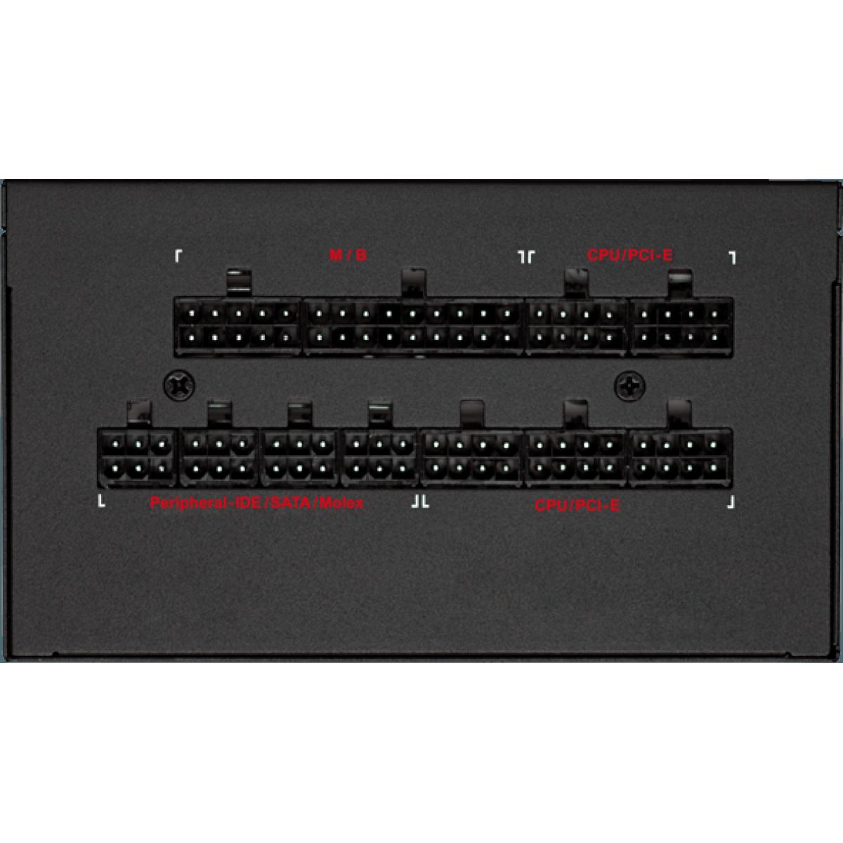 Fonte Riotoro Enigma G2 650W, 80 Plus Gold, PFC Ativo, Full Modular, PR-GP0650-FMG2