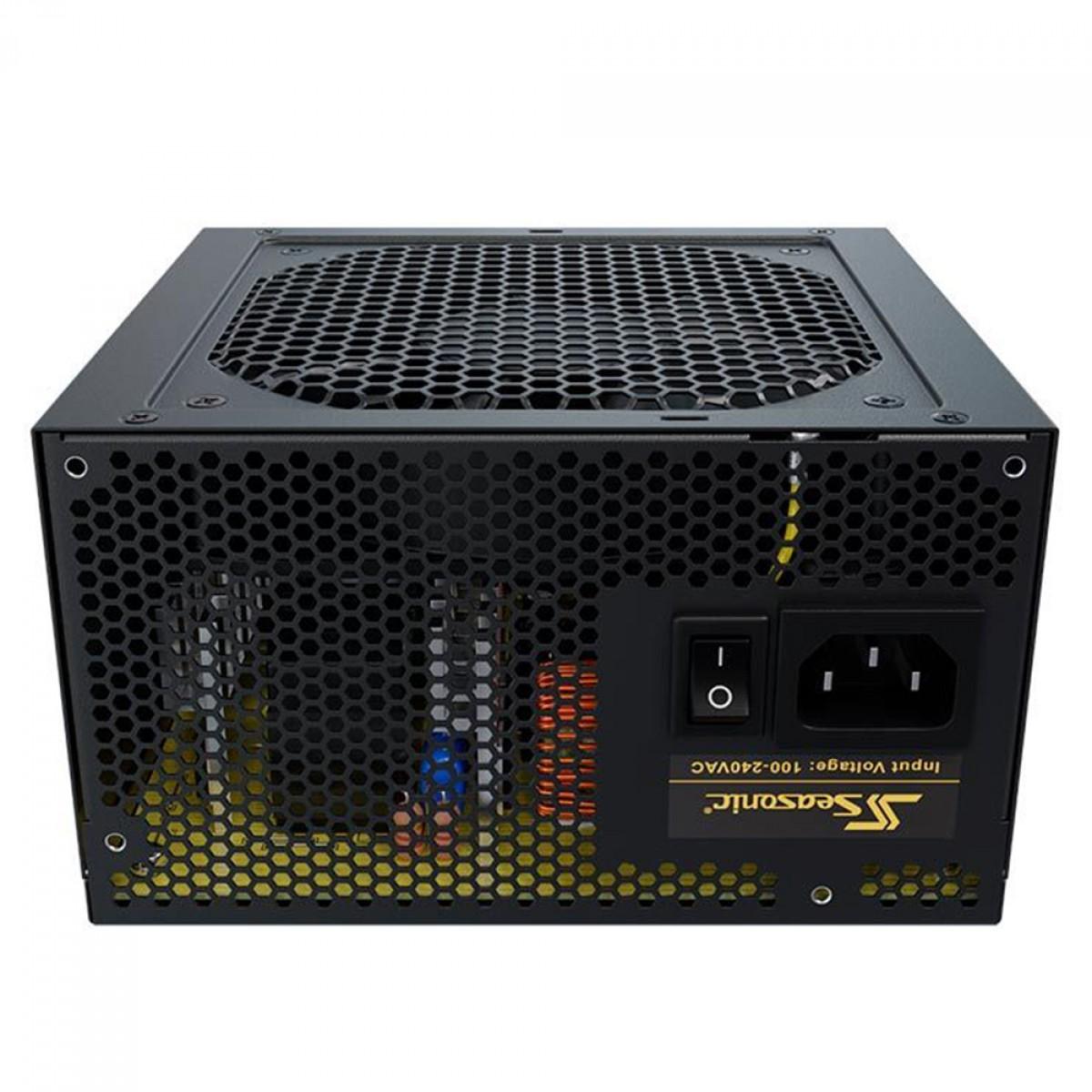 Fonte Seasonic Core GM-550, 550W, 80 Plus Gold, Semi Modular
