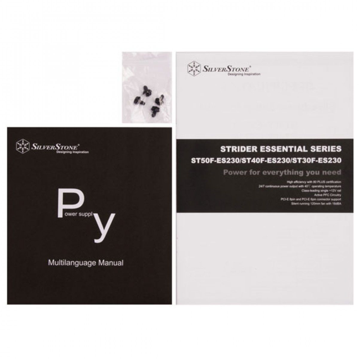 Fonte SilverStone SST-ST50F-ES230, 500W, 80 Plus, PFC Ativo, SST-ST50F-ES230 (APENAS 220V)