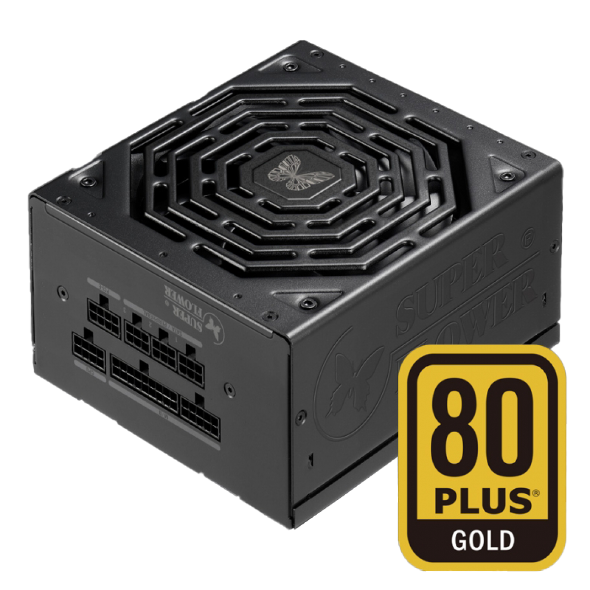 Fonte Super Flower LEADEX III 550W, 80 Plus Gold, PFC Ativo, Full Modular, SF-550F14HG