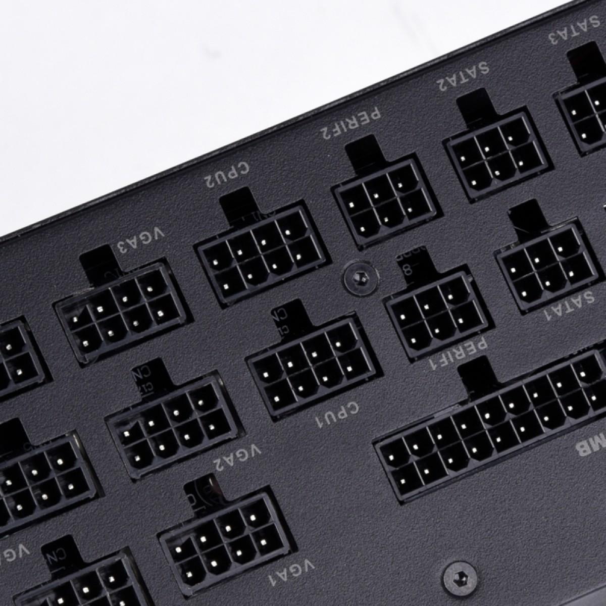 Fonte Super Flower LEADEX Platinum SE 1000W, 80 Plus Platinum, PFC Ativo, Full Modular, SF-1000F14MP