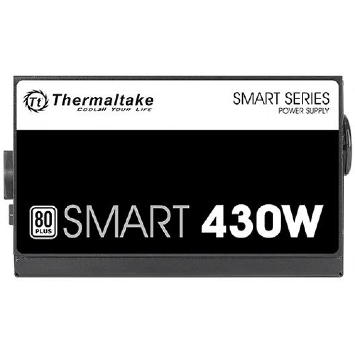 Fonte Thermaltake Smart 430W, 80 Plus White, PFC Ativo, PS-SPD-0430NPCWBZ-W