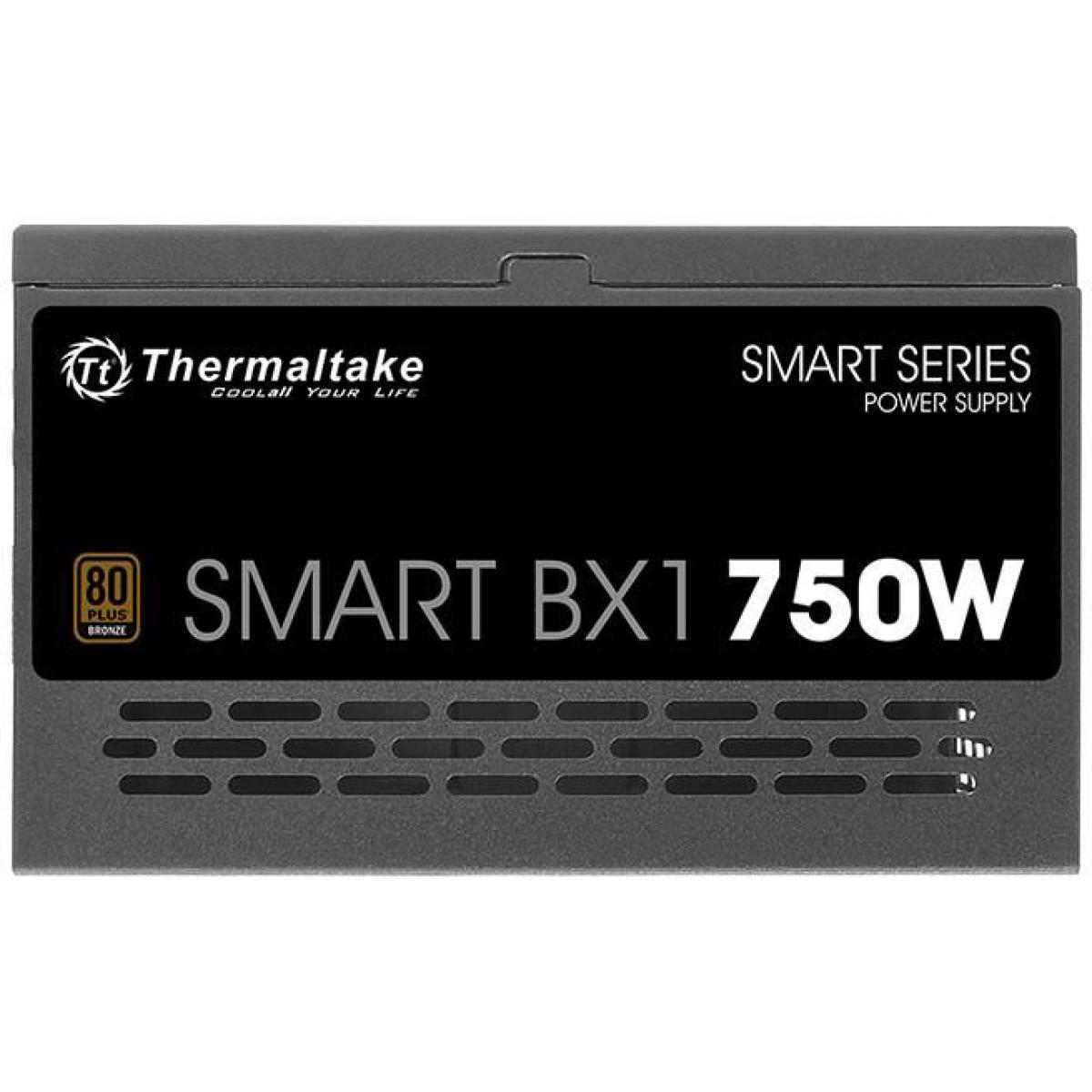 Fonte Thermaltake Smart BX1 750W, 80 Plus Bronze, PFC Ativo, PS-SPD-0750NNFABB