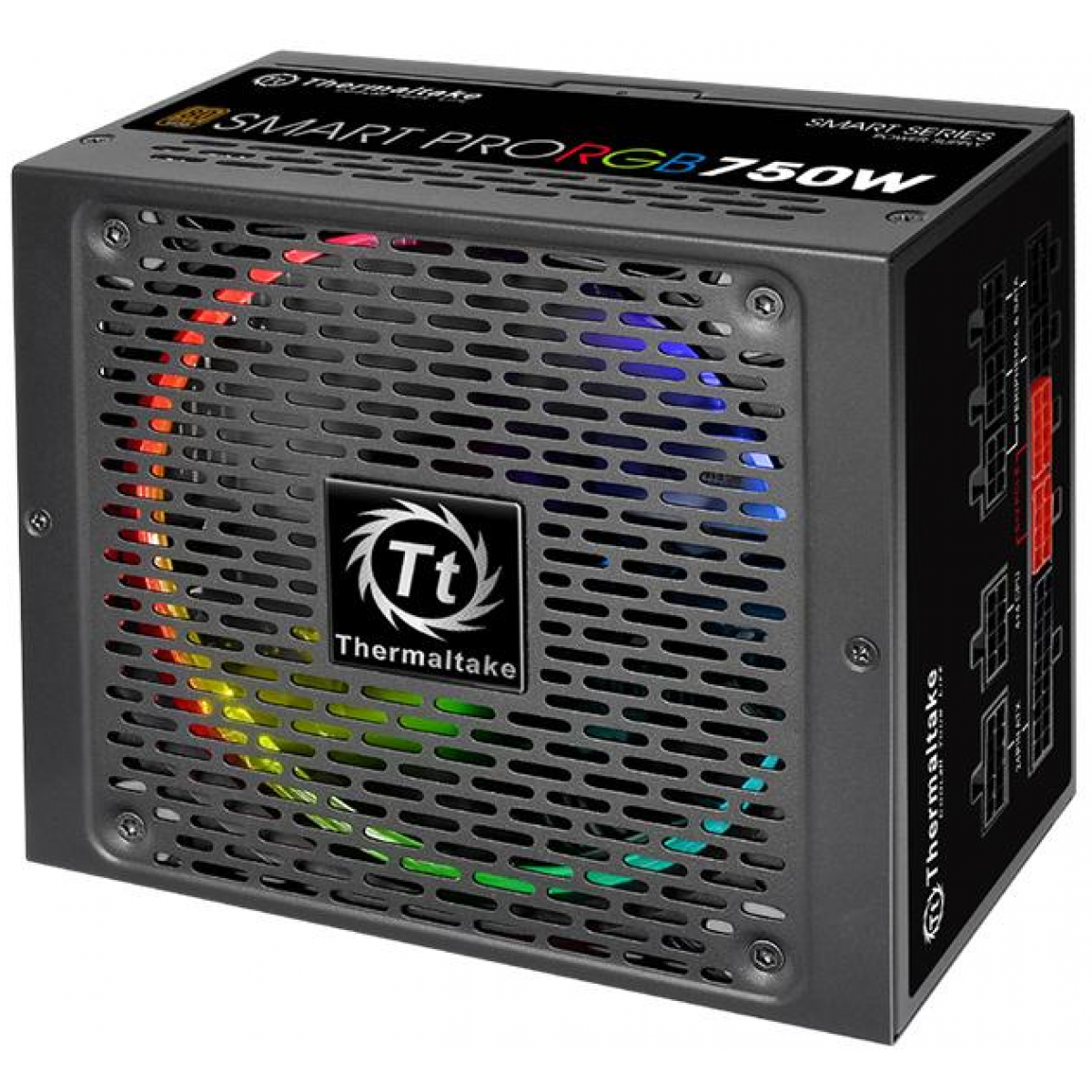 Fonte Thermaltake Smart Pro RGB 750W, 80 Plus Bronze, PFC Ativo, Full Modular, PS-SPR-0750FPCBUS-R
