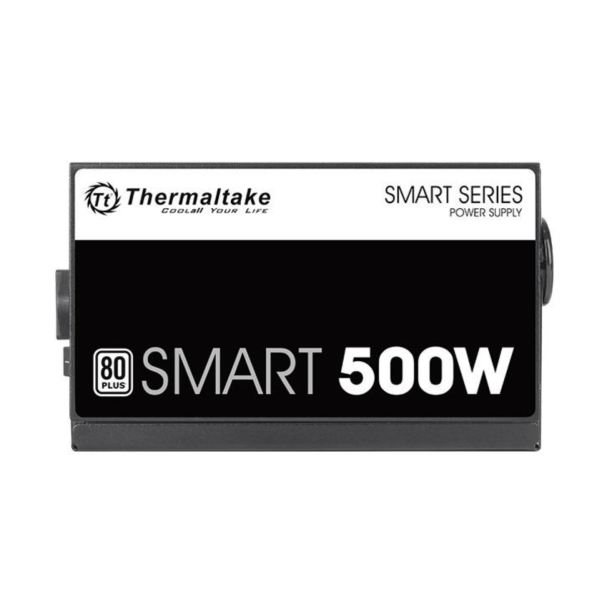 Fonte Thermaltake Smart Series 500W, 80 Plus White, PFC Ativo, PS-SPD-0500NPCWBZ-W